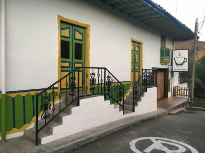 Café Bernabé in Salento, Quindío, Colombia