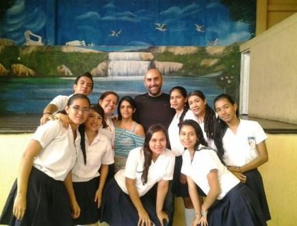 Last class with 11-3 at Nuestra Señora del Rosario in Belén de Umbría, Risaralda, Colombia