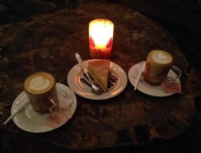 Cappuccino con arequipe at Café Jesús Martín in Salento, Quindío, Colombia