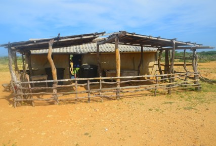 Wayúu home at Punta Gallinas, La Guajira, Colombia