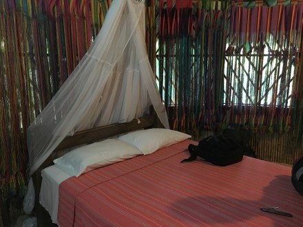 Bedroom at Ecohostal Yuluka near Tayrona National Park in Colombia