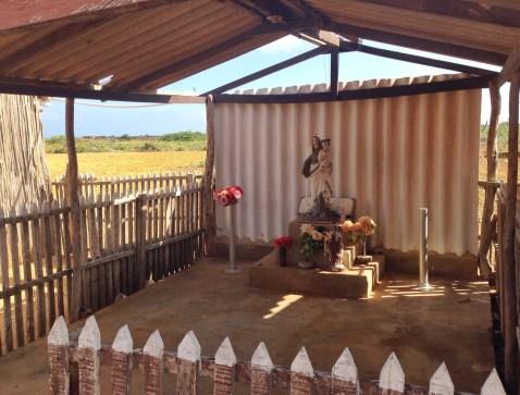 Chapel at Hospedaje Alexandra at Punta Gallinas, La Guajira, Colombia