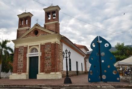 Iglesia de Nuestra Señora de Chiquinquirá in Santa Fe de Antioquia, Colombia