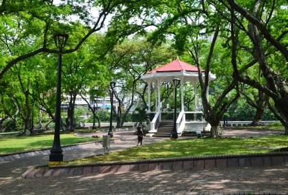 Parque Simón Bolívar in Cali, Colombia