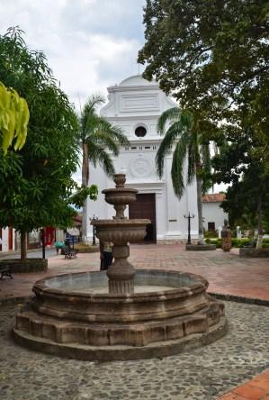 Iglesia de Jesús Nazareno in Santa Fe de Antioquia, Colombia