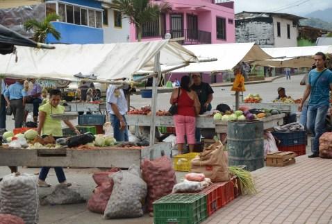 Market in Pueblo Rico, Risaralda, Colombia