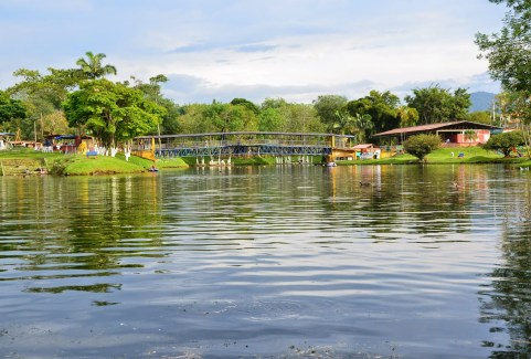 Parque Lago de la Pradera in Dosquebradas, Risaralda, Colombia
