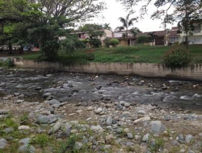 Río Guadalajara in Buga, Valle del Cauca, Colombia