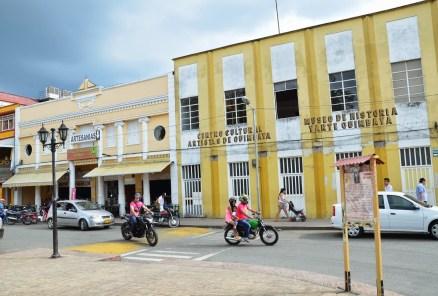 Artesanias and Museo de Historia y Arte Quimbaya in Quimbaya, Quindío, Colombia