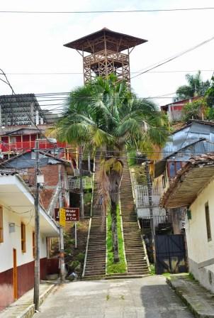 Mirador Alto de la Cruz in Circasia, Quindío, Colombia