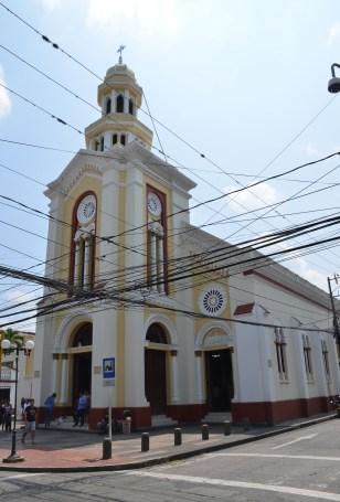 Templo de Santo Domingo in Buga, Valle del Cauca, Colombia