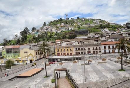 El Panecillo in Quito, Ecuador