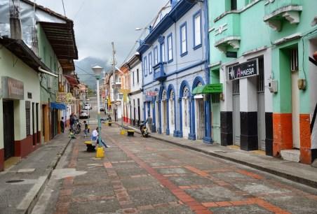 A street in Riosucio, Caldas, Columbia