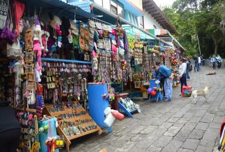 Vendors at Santuario de Las Lajas near Ipiales, Nariño, Colombia