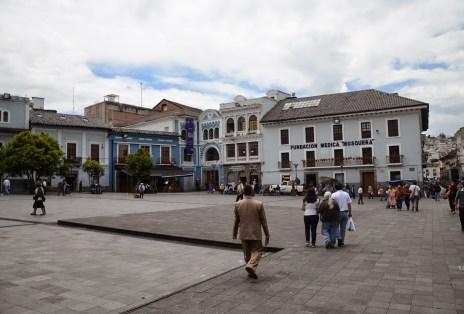 Plaza del Teatro in Quito, Ecuador
