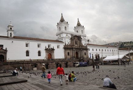 Monasterio de San Francisco in Quito, Ecuador