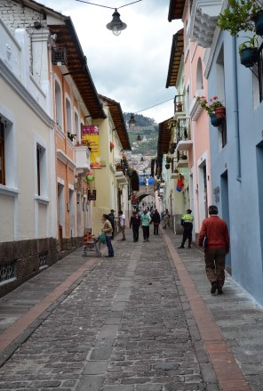 La Ronda in Quito, Ecuador