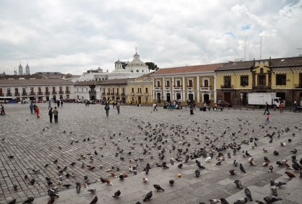 Plaza de San Francisco in Quito, Ecuador