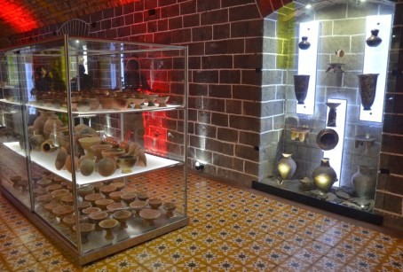 Museum at Santuario de Las Lajas near Ipiales, Nariño, Colombia