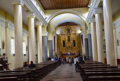 Iglesia El Jordán in Otavalo, Ecuador