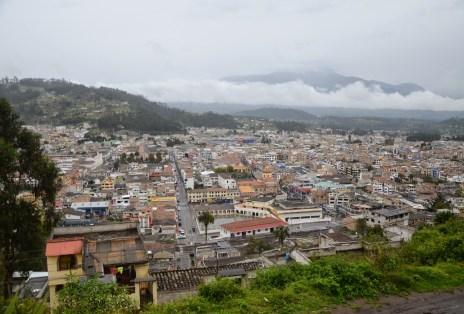 View of Otavalo, Ecuador