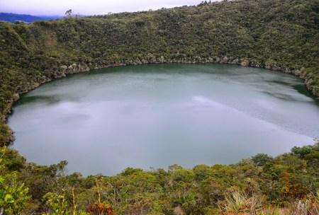 Laguna de Guatavita in Colombia