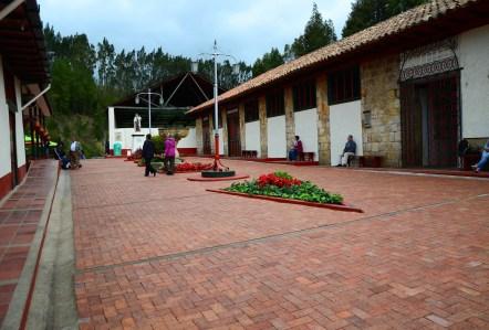 Outside the Mina de Sal in Nemocón, Cundinamarca, Colombia