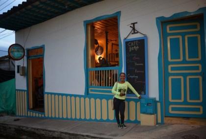 Café Jesús Martín in Salento, Quindío, Colombia
