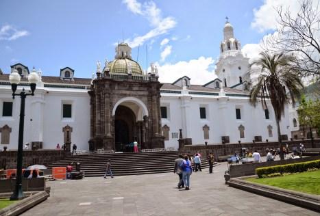 Catedral Metropolitana on Plaza Grande in Quito, Ecuador