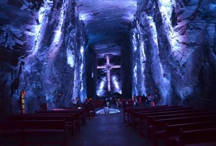 Catedral de Sal in Zipaquirá, Cundinamarca, Colombia