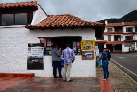 Lineas El Dorado office in Guatavita, Cundinamarca, Colombia