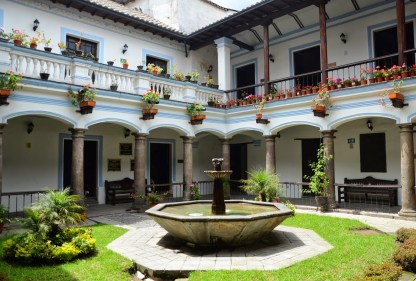 Casa de Sucre in Quito, Ecuador