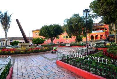 Plaza in Nemocón, Cundinamarca, Colombia