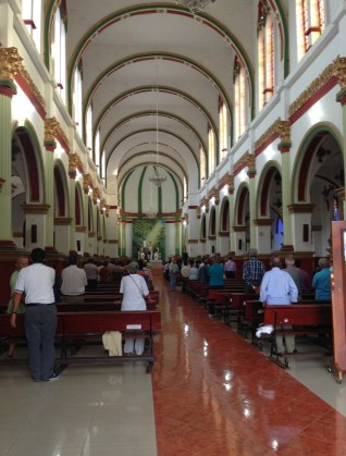 Church in Caicedonia, Valle del Cauca, Colombia