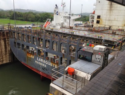 Gatún Locks on the Panama Canal