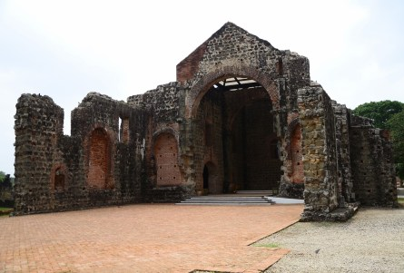 Iglesia de la Concepción at Panama Viejo