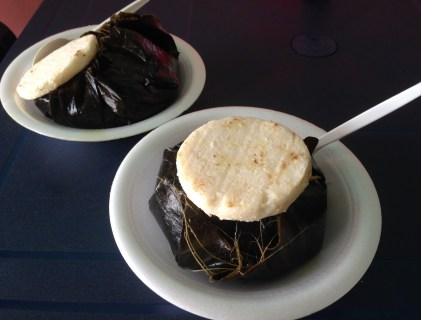 Tamal Tolimense in Ibagué, Tolima, Colombia