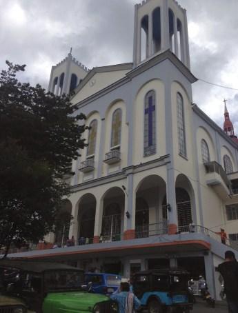 Church in Aranzazu, Caldas, Colombia
