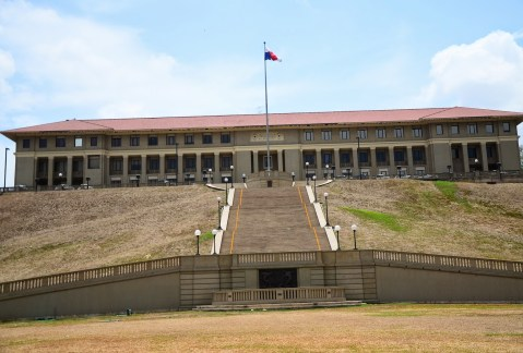 Panama Canal Administration Building in Balboa, Panama City