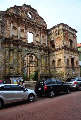Iglesia de la Compañía de Jesús in Casco Viejo, Panama City