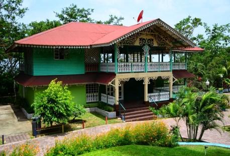 Afro-Antillean village at Mi Pueblito in Panama City