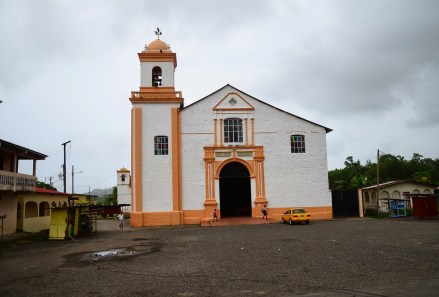Iglesia de San Felípe in Portobelo, Panama