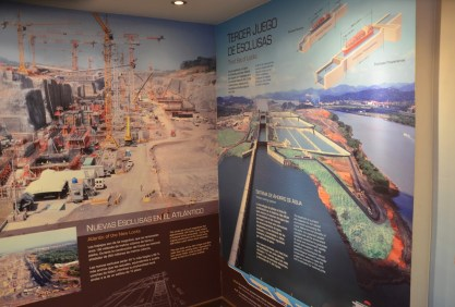 Museum at the Miraflores Locks on the Panama Canal