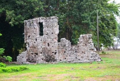 Casa de los Genoveses at Panama Viejo
