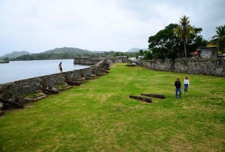 Fuerte San Jerónimo in Portobelo, Panama