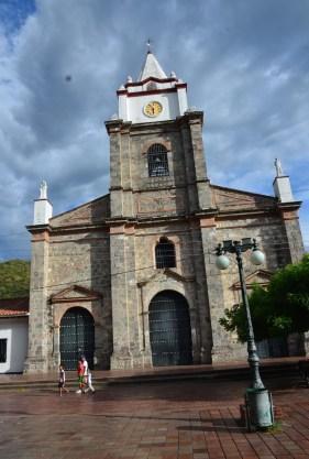 Nuestra Señora del Rosario church in Honda, Tolima, Colombia