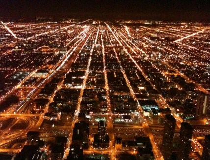 Skydeck at Willis Tower (Sears Tower) in Chicago