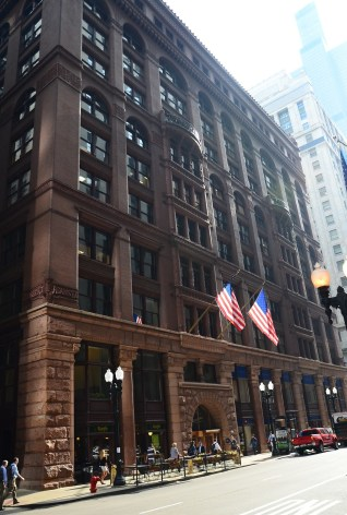 The Rookery Building in Chicago