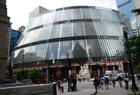 James R. Thompson Center in Chicago