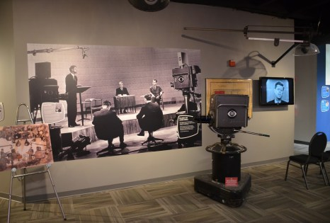 Kennedy-Nixon Debate Camera at the Museum of Broadcast Communications in Chicago, Illinois